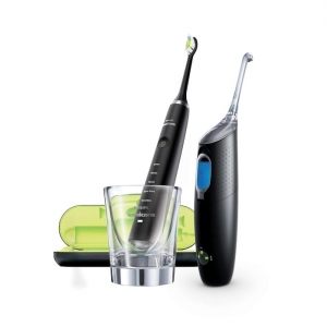 Philips Sonicare HX8491/03 Diamond Clean + AirFloss Ultra czarny