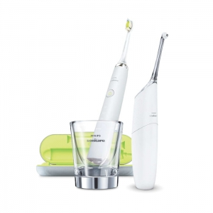 Philips Sonicare HX8491/01 Diamond Clean + AirFloss Ultra biały