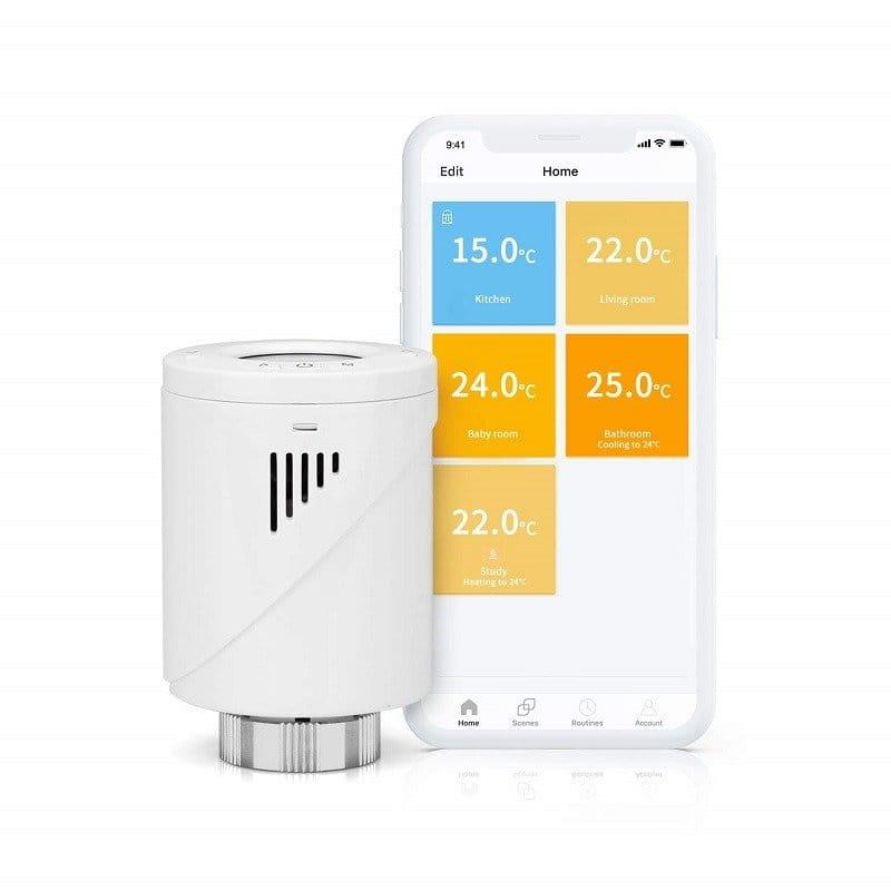 Inteligentna głowica termostatyczna WiFi Meross MTS100 (dodatkowa)